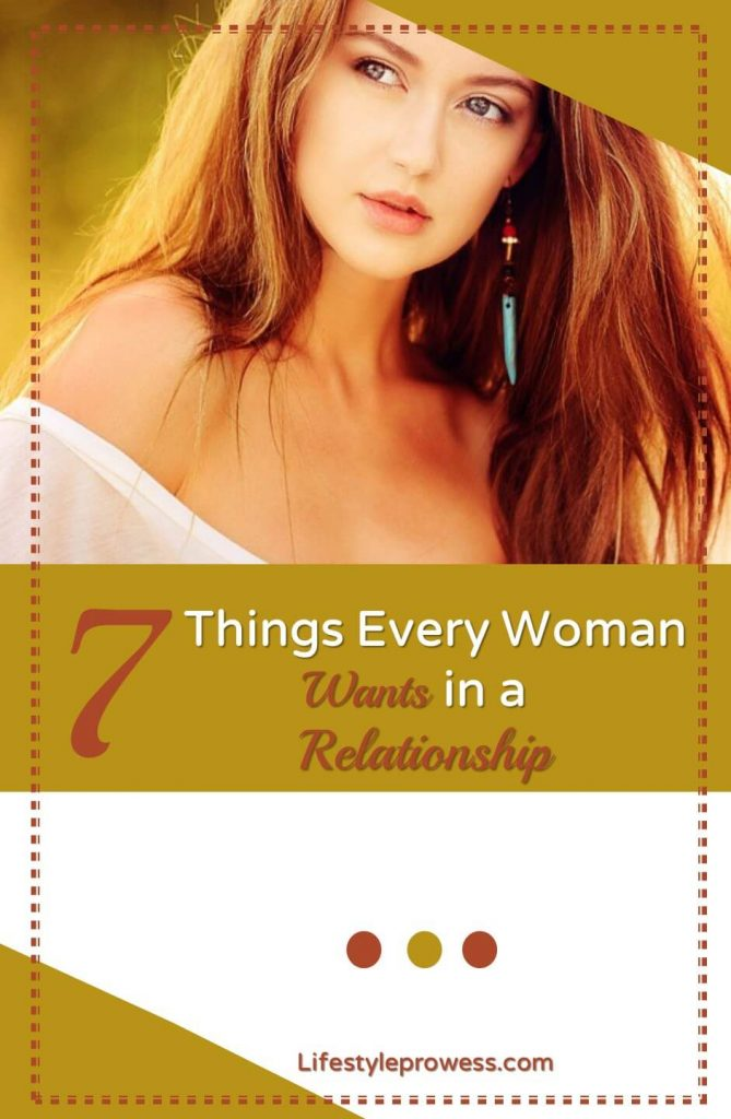 What a Woman Wants in a Relationship